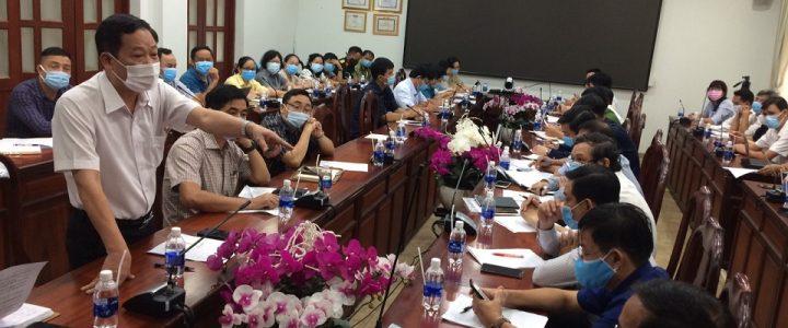 دونگ نای جلسه اضطراری مربوط به پرونده F1 را که در پارک صنعتی Amata Bien Hoa Hu رونمایی شد برگزار می کند