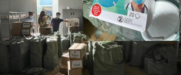 با ورود به انبار ، بیش از 30،000 ماسک تقلبی 3M و KN95 پیدا کردیم